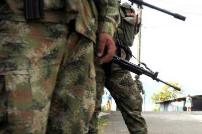 Militar fue asesinado por un francotirador del Eln