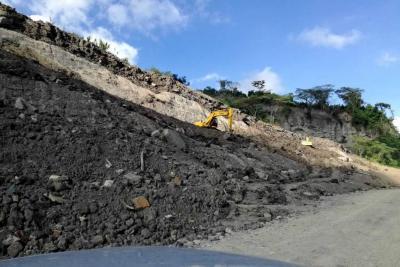 Fue habilitado el paso en la vía entre Bucaramanga y Barrancabermeja