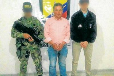 Capturado presunto extorsionista vinculado a la guerrilla del Eln en Piedecuesta