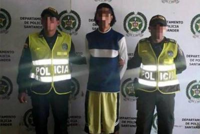 Fue capturado un hombre por acceso carnal abusivo con menor de 14 años en Santander