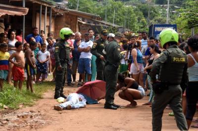 Asesinaron a 'El Mono' en Barrancabermeja