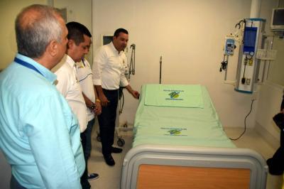 UCI del Hospital, por fin en funcionamiento