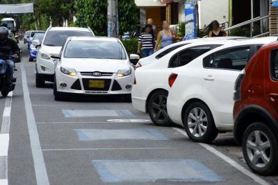 Disminuyó un 80% el parqueo en antiguas Zonas Azules de Bucaramanga