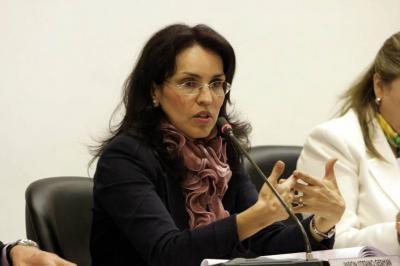 Viviane Morales va por la Presidencia tras renunciar al Partido Liberal
