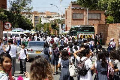 Con normalidad se iniciaron clases en colegios oficiales de Bucaramanga