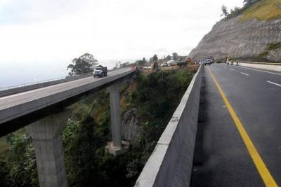 Suspenden trámite de licencia ambiental de vía entre Bucaramanga y Pamplona