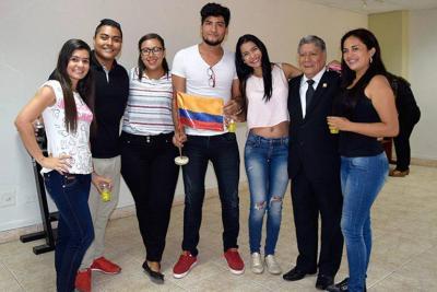 Sangileños intercambiaron conocimientos con  estudiantes de Perú y México