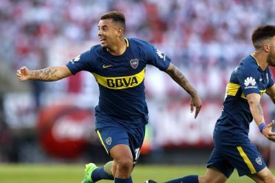 Cardona y Barrios, acusados de violencia, no jugarán este miércoles con Boca Juniors