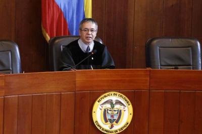 Magistrado Luis Antonio Hernández, nuevo presidente de la Corte Suprema de Justicia