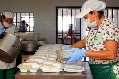En febrero volverán los almuerzos a bajo costo para la población vulnerable