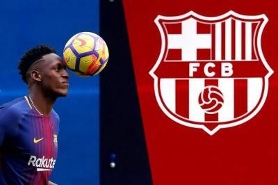 Este es el número con el que jugará Yerry Mina en el Barcelona