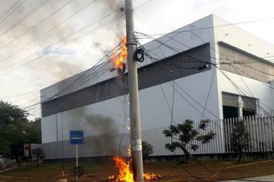Falla eléctrica dejó a Floridablanca, Girón, Zapatoca y San Vicente de Chucurí sin energía eléctrica