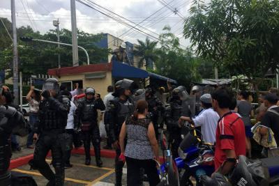 Garita de vigilancia del Sector 20 de Bucarica fue demolida