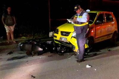 Motociclista murió tras fuerte colisión en Barrancabermeja