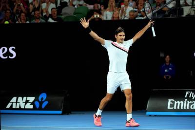 Federer venció a Gasquet y avanzó a los octavos de final en Australia