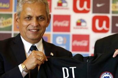 Rueda fue presentado oficialmente como nuevo seleccionador de Chile