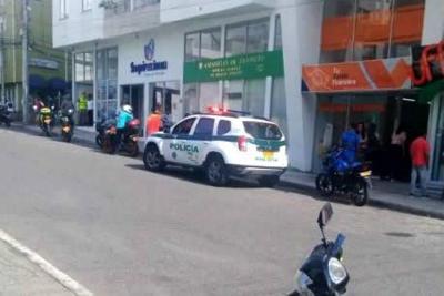 Hombre resultó herido  en un intento de fleteo en Bucaramanga