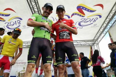 Colombia brilló en la Vuelta al Táchira