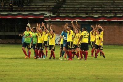 Manuela González anotó en el triunfo de Colombia