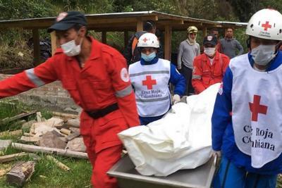 A 13 subió el número de muertos por deslizamiento en Nariño