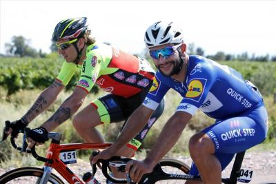 Fernando Gaviria perdió el liderato de la Vuelta a San Juan