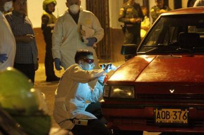 Hombre fue asesinado de 9 disparos en Bucaramanga