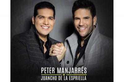 Disco de Platino para Peter Manjarrés