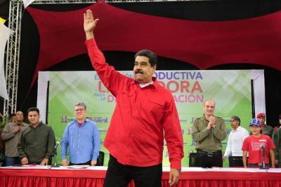 Nicolás Maduro inicia campaña en busca de su reelección