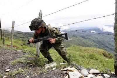 Seis guerrilleros muertos en combates con el Ejército en Antioquia