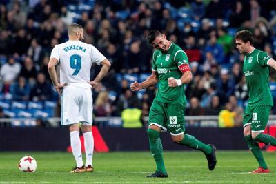 El Leganés eliminó al Real Madrid en Copa