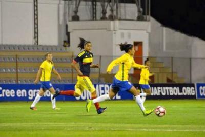 Colombia inició con derrota el cuadrangular final del Sudamericano Sub20