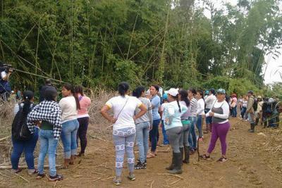 Encontraron los cadáveres de dos niñas desaparecidas en Cauca