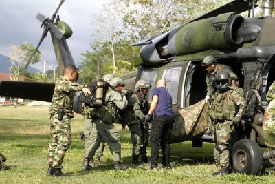Ejército abate a un cabecilla del Eln y tres guerrilleros más