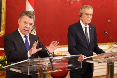 """Colombia, un país de """"enormes oportunidades"""" con la paz"""