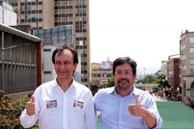 Herrera y Villamizar serán fórmula para el Congreso