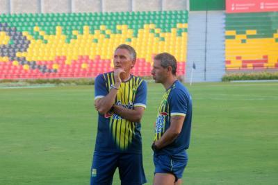 """""""Poco a poco se está viendo  el equipo, vamos bien"""": DT del Bucaramanga"""