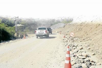 Crónica de coluviones inestables anunciados en la vía a Barrancabermeja