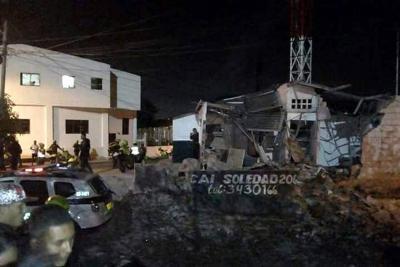 Cinco heridos tras nuevo ataque contra la Policía en Barranquilla