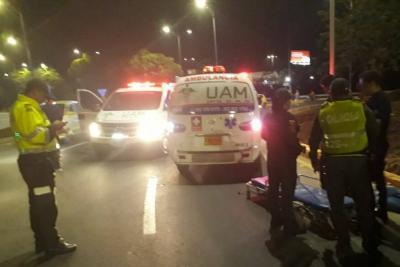 Dos motociclistas murieron en accidentes en Floridablanca y Los Santos