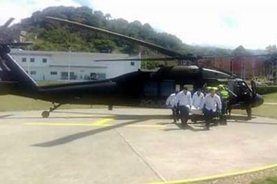 Trasladan a Bucaramanga a policías muertos en sur de Bolívar