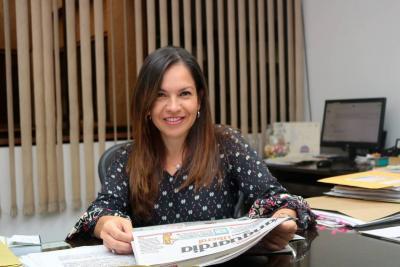 Diana Saray Giraldo  es la nueva Directora de Vanguardia Liberal