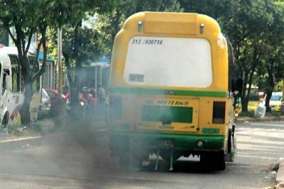 Detectan 5.239 vehículos en Bucaramanga con diferentes fallas técnico-mecánicas