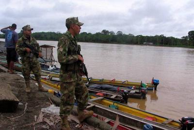 Herida menor indígena en bombardeo contra el Eln, en Chocó