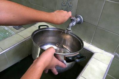 Suspensión del servicio de agua en varios barrios