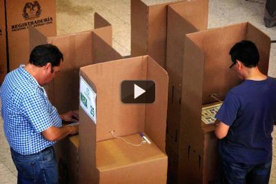 Voto en blanco se impone en el país. Fajardo y Petro le siguen en intención de voto