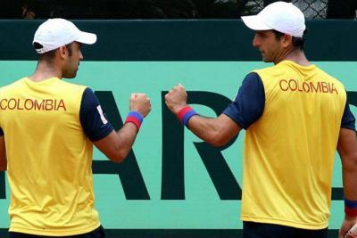 Cabal y Farah lograron triunfo para Colombia en la Copa Davis