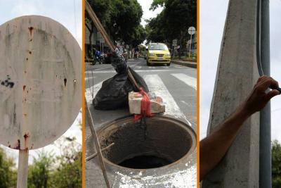 Se están robando a Bucaramanga, '....a pedazos'