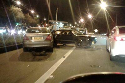 Se registró accidente múltiple en la autopista entre Piedecuesta y Floridablanca
