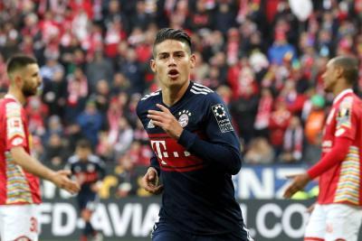 """James es toda una fortuna"": Técnico del Bayern de Munich"