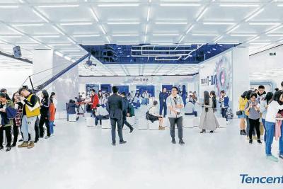 Tencent abre tiendas  inteligentes sin humanos